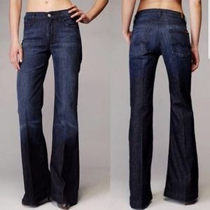 7 For All Mankind Ginger Jean Wide Leg
